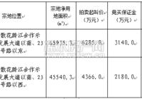 【土拍公告】浠水散花跨江合作示范区黄金地块拍卖!