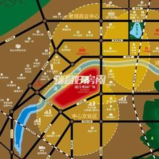瑞昌奥园广场区位图