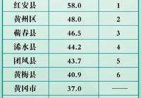 剛剛!黃岡重磅經濟數據出爐,黃梅這三項數據全市排名第二!