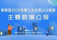 黃梅縣2020年第七次全國人口普查主要數據公報