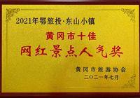 """鄂旅投·東山小鎮榮獲""""2021年黃岡市十佳網紅景點人氣獎"""""""
