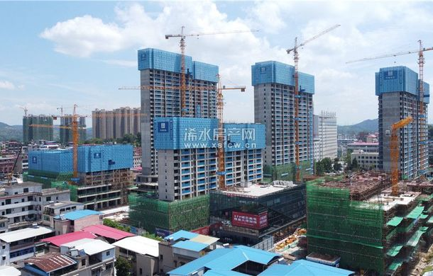 润达国际7月进度播报||12#楼正在进行32层结构施工
