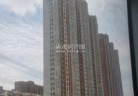 浠水恒凯国际33层高楼外墙砖正在铲除