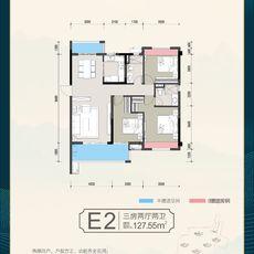 东泰华城E2户型户型图