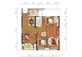 泰和广场商品房出售,三室一厅107平方电梯房,43.9万