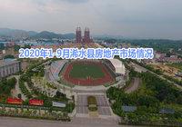 2020年1-9月浠水县房地产市场运行情况