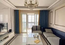 信达畔山华府 106平精装修 3房2厅1卫 带1衣帽间 小区环境优美