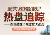 2021年6月武穴在售樓盤工程進度匯總