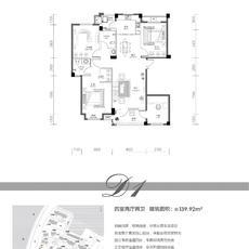 欣海·世纪城--3#D1户型