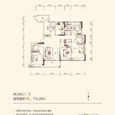 金浦佳苑2-2#(B)楼户型图