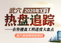 2020年10月武穴在售樓盤工程進度匯總