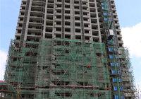 景江豪庭9月工程进度播报   2#楼脚手架拆除中
