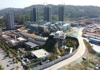 方木山居9月工程进度:G1/G2外墙架已拆除!