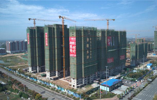 香榭水岸9月进度播报||2#楼主体结构建至25层!