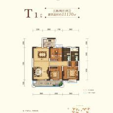 申丰·金色阳光城--T1 111.70