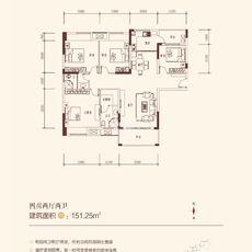 金浦佳苑2-4#(B)楼户型图