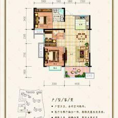 融锦名城B2户型户型图