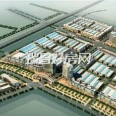 九江林安国际商贸物流产业园鸟瞰图