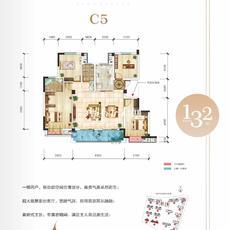 申丰·金色阳光城--C5 132㎡