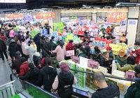 疯狂!世纪华联超市开业!万人齐聚广济新天地!