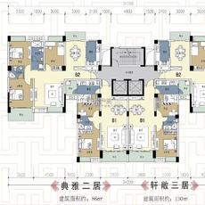 蕲阳新区二期精品户型展示户型图