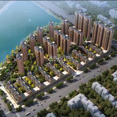 恒凯国际新城鸟瞰图