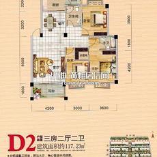 五瑞·尚城D2户型图