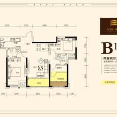 至信·滨江国际B1户型图