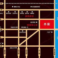 東方陽光城區位圖
