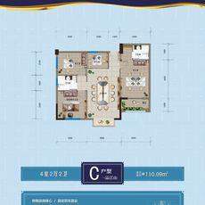 大江文化广场C户型--一品江山户型图