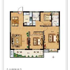東城壹號G1戶型圖
