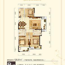 申丰金色家园B1/7户型户型图