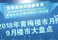 2018年9月黄梅楼市活动动态汇总