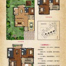 凤凰生态城别墅C户型户型图