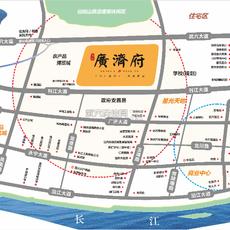 廣濟府區位圖