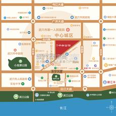 御江·中央公館區位圖
