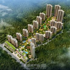 瑞锦东城鸟瞰图