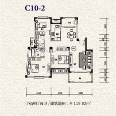 一方山水•塔山城C10-2户型图