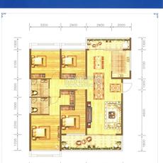 威尼斯得月广场A1户型户型图