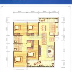威尼斯得月广场B1户型户型图