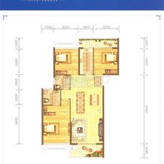 威尼斯得月广场C1户型户型图