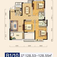 申丰金色家园B1/10 户型户型图