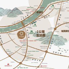 义水星城区位图
