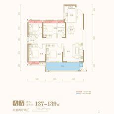 九坤·新城首府AA#户型户型图