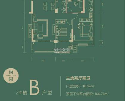 泰禾富•凤凰府尚园 2# B户型