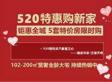 国鼎华府 | 520钜惠全城,5套特价房限时抢购!