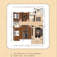 锦上城二期--1#楼C-1户型