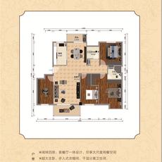 锦上城二期--1#楼B-3 户型