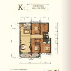 申丰·金色阳光城--K户型