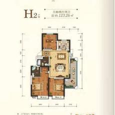 申丰·金色阳光城--H2户型